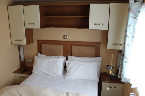 Caravan G64 Master Bedroom