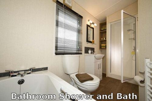 Caravan B19 Bathroom